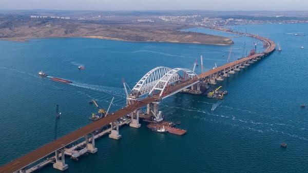 Поезда пойдут по Крымскому мосту до конца года - Дитрих. транспорт, поезд, Крымский мост