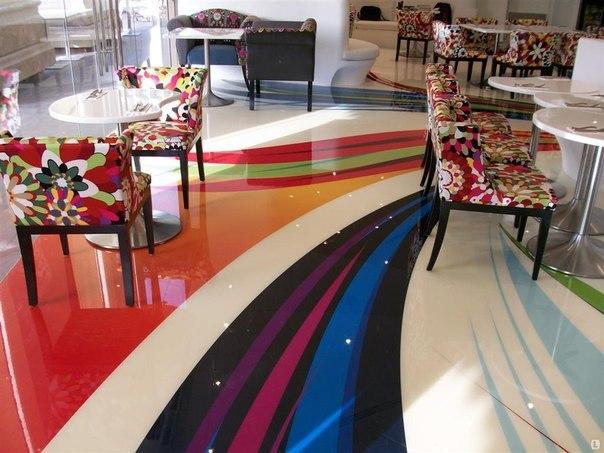 Бизнес идея: Декоративные наливные полы