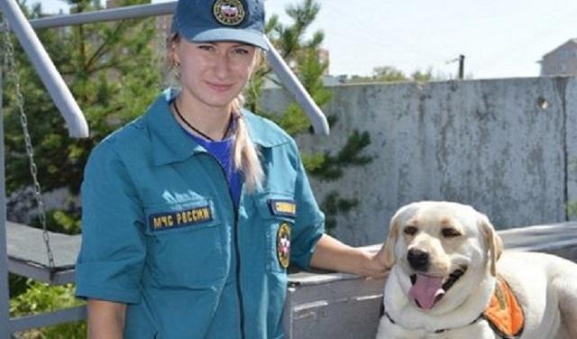 Лабрадор Ирэль стал первым сертифицированным спасателем. 26605.jpeg