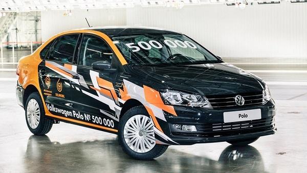 Юбилейный седан Volkswagen Polo сошел с конвейера завода в Калуге. 26675.jpeg