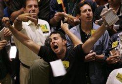 Рынок акции корректируется в начале недели