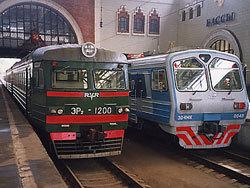 Грузовик протаранил поезд Горьковского направления