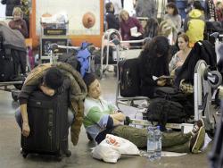 Отсутствие топлива прервало работу аэропорта Манчестер