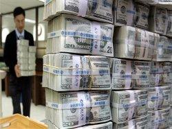 В поддержку рубля Банк России продает доллар
