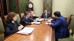 Глава Ингушетии пообщался с представителями ОНФ