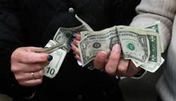 Доллар на открытии потерял 25 коп.