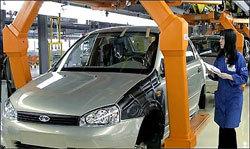 АВТОВАЗ в 2012 году реализовал 334630 автомобилей