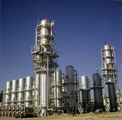 Экспорт газа из РФ снизился на 10,1% в 2012 году