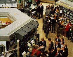 Торги на российском рынке проходят в  зеленой  зоне