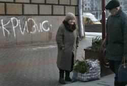 Согласно опросу ВЦИОМ, россияне ждут новой волны кризиса