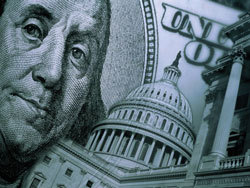 Доллар потерял почти 60 коп.