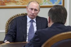 Путин проводит рабочую поездку в Ростовскую область
