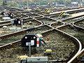 ...с отказом путевого оборудования сегодня изменен график движения поездов дальнего следования и электричек, включая...