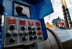 При росте добычи газа в РФ, снизился экспорт