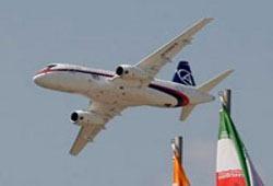 ЭКСАР будет продвигать самолеты Sukhoi Superjet на мировой рынок