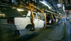 Производство автомобилей в Японии снизилось на 12,8% в 2011 году