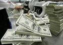 Рубль вечером показал снижение почти на 1 рубль