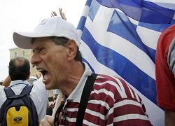 Забастовка парализовала Грецию