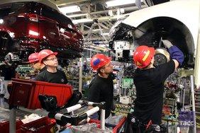 В России снова начал работу завод Toyota