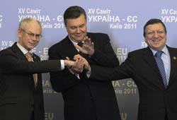 Евросоюз  продинамил  Украину