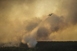 МЧС усиливает борьбу с пожарами в Сибири