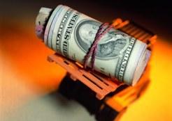 Доллар потерял 20,32 коп.