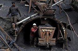 Добыча угля в России выросла на 1,5%