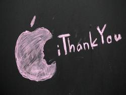 Яблочный  гигант загрузил iБитву