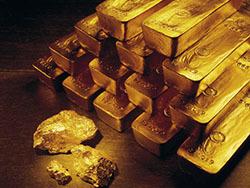 Запасы золота России в  международных резервах выросли на 16,5%