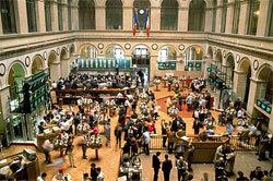 Рынок акций открылся в  зеленой  зоне